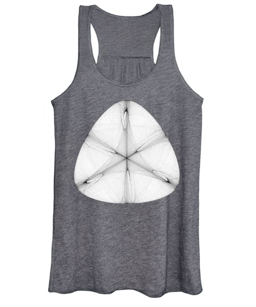 Abstract Shell Women's Tank Top