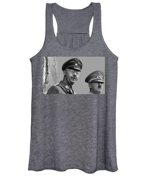 Adolf Hitler And Gestapo Head Heinrich Himmler Watching Parade Of Nazi Stormtroopers 1940-2015 Women's Tank Top