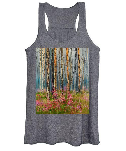 After Forest Fire Women's Tank Top