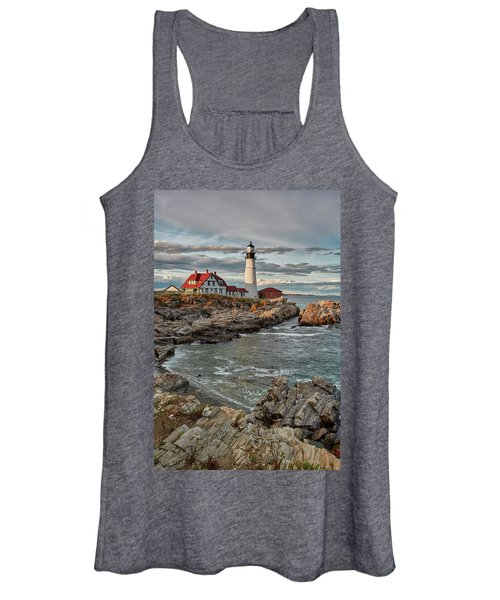 Afternoon Light At Cape Neddick Women's Tank Top