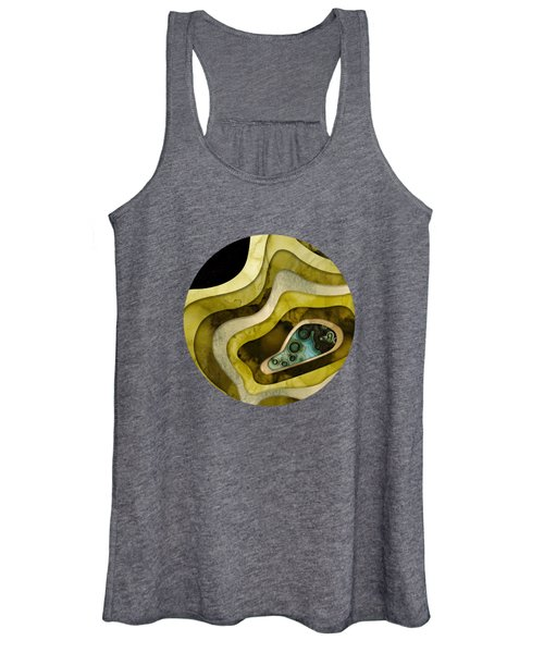 Agate Abstract II Women's Tank Top