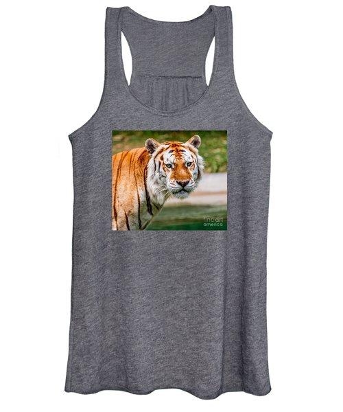 Aging Tiger Women's Tank Top