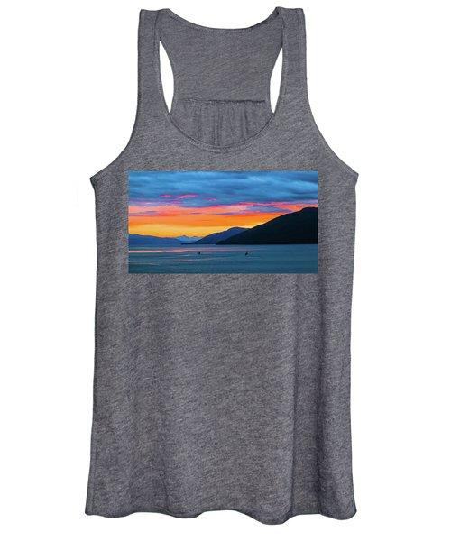 Alaska Fishermans Sunset Women's Tank Top