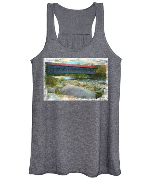 Albany Covered Bridge Nh. Women's Tank Top