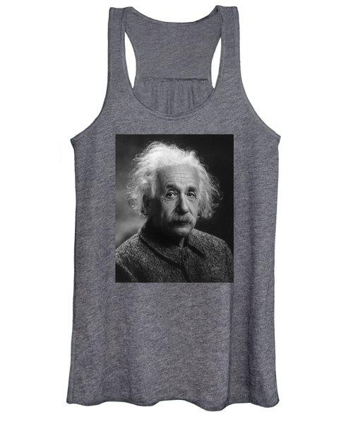 Albert Einstein, 1947. Age 68. Women's Tank Top