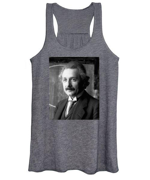 Albert Einstein Nel 1921 Women's Tank Top