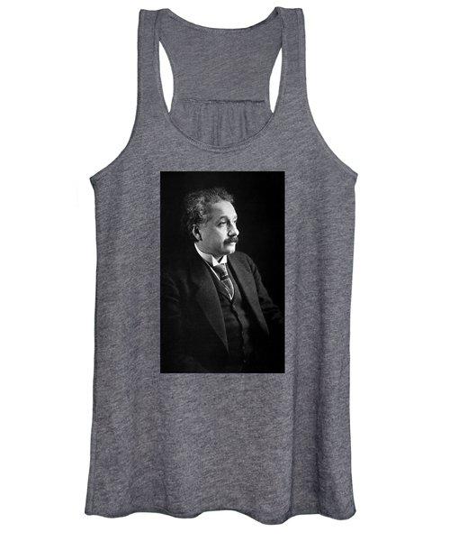 Albert Einstein Photo 1921 Women's Tank Top