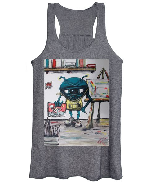 Alien Artist Women's Tank Top