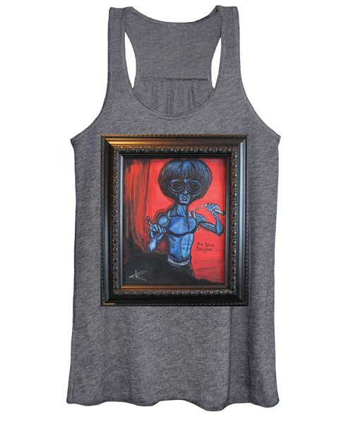 alien Bruce Lee Women's Tank Top