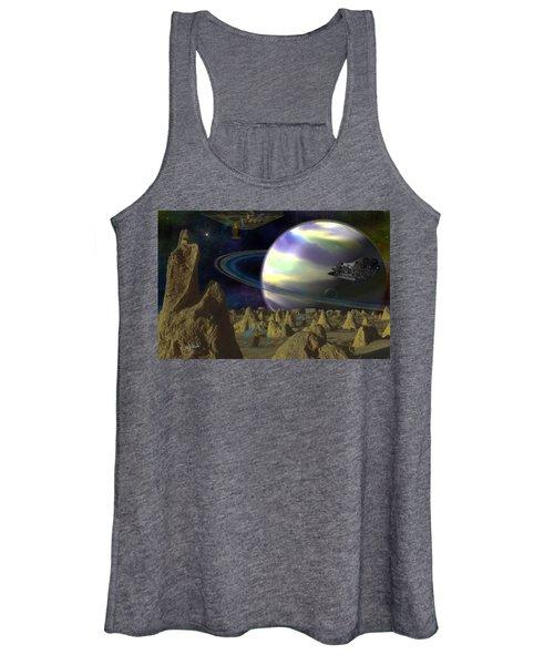 Alien Repose Women's Tank Top