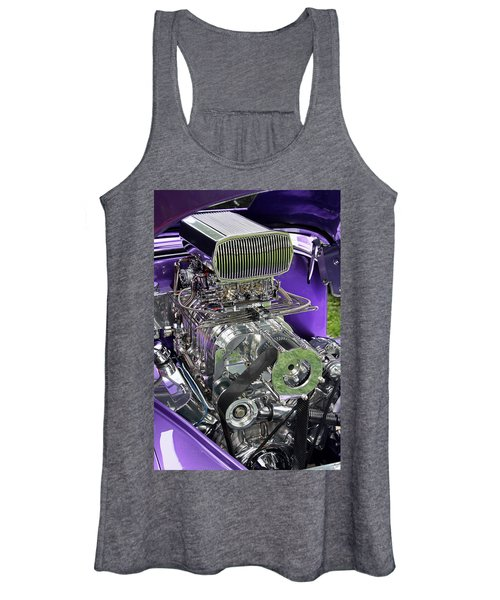 All Chromed Engine With Blower Women's Tank Top