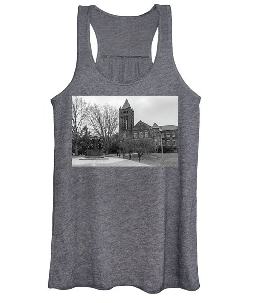 Alma Mater And Law Library University Of Illinois  Women's Tank Top