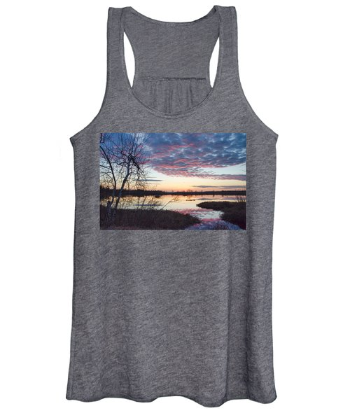 Almost Spring Sunset Women's Tank Top