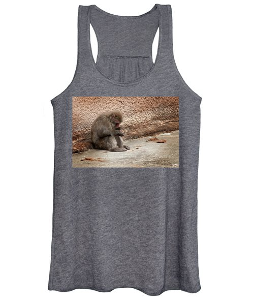 Alone With My Bread Crumbs Women's Tank Top