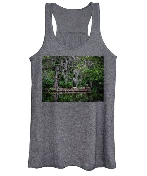 Women's Tank Top featuring the photograph Along The Bank by Michael Colgate
