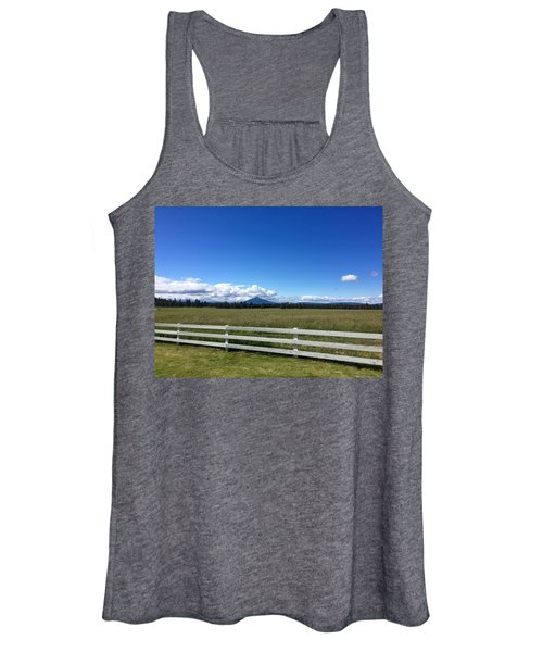 Along The Fence Line Women's Tank Top