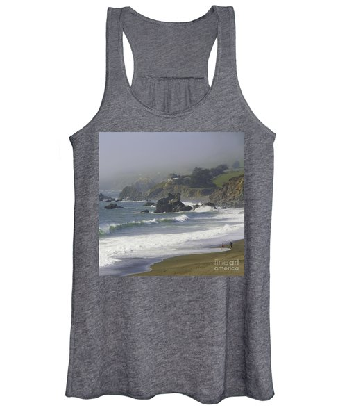Along The Pacific #2 Women's Tank Top