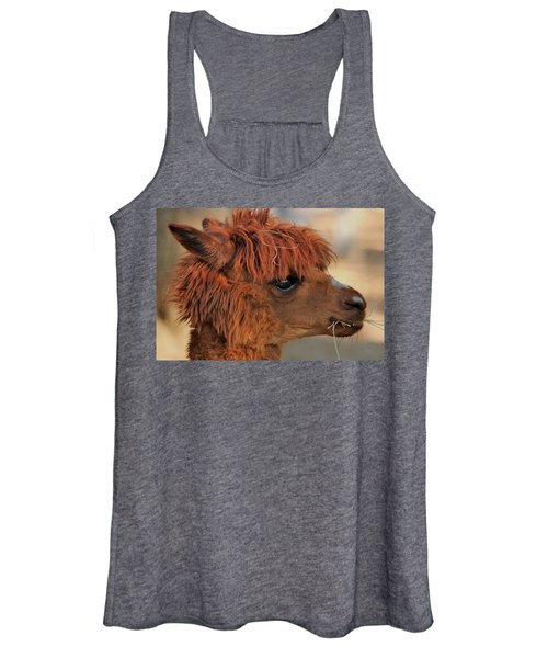 Alpaca Portrait Women's Tank Top