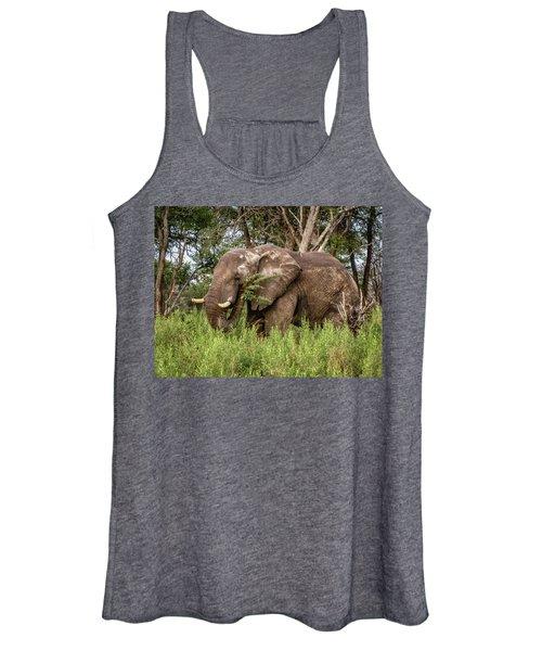 Alpha Male Elephant Women's Tank Top