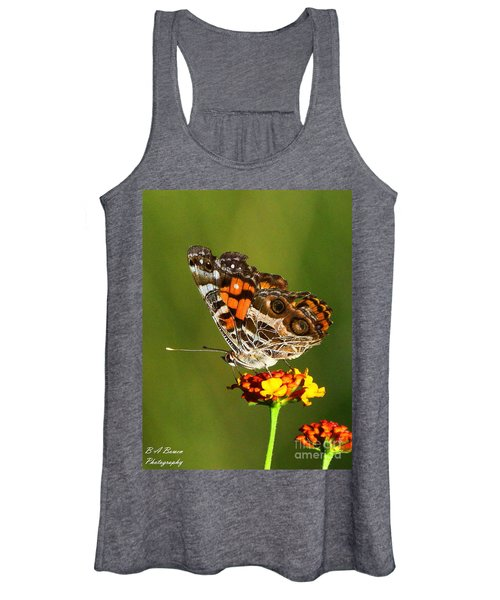 American Painted Lady Women's Tank Top