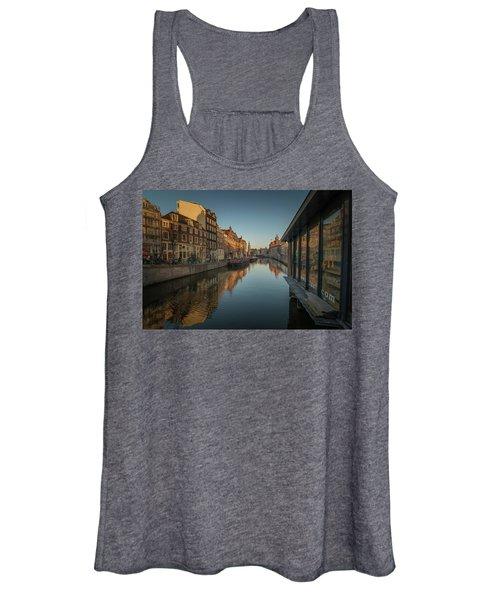 Amsterdam Canal Women's Tank Top