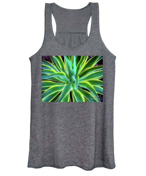 An Agave In Color  Women's Tank Top