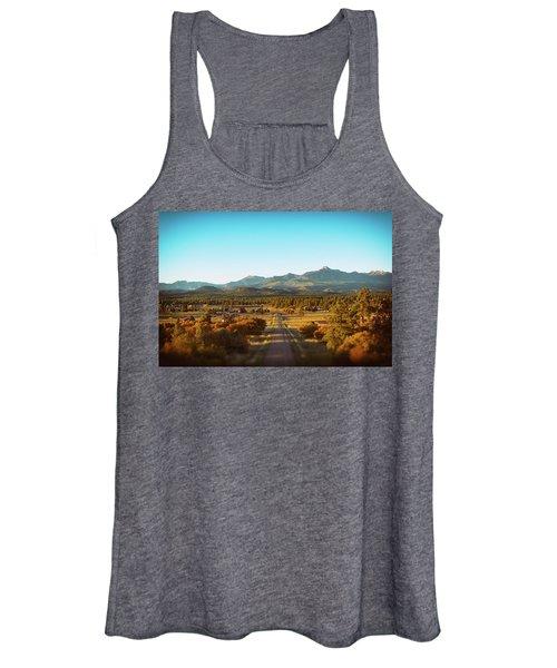 An Autumn Evening In Pagosa Meadows Women's Tank Top