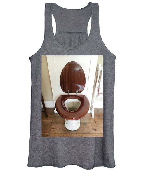 An Old Toilet Women's Tank Top