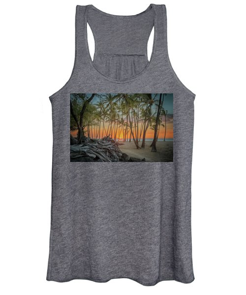 Anaehoomalu Beach Sunset Women's Tank Top