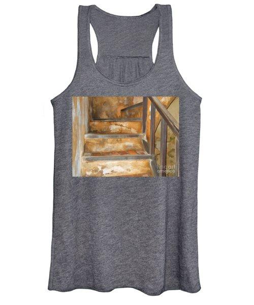 Ancient Stairway Women's Tank Top