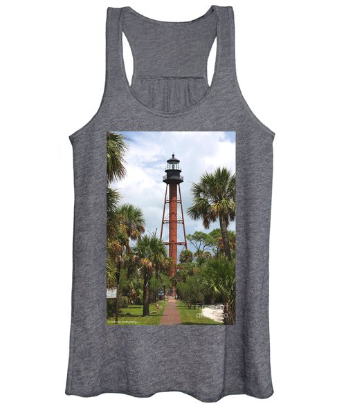 Anclote Key Lighthouse Women's Tank Top