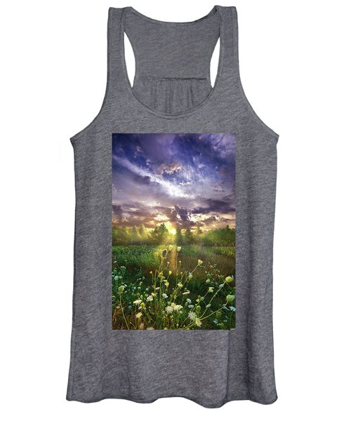 And In The Naked Light I Saw Women's Tank Top