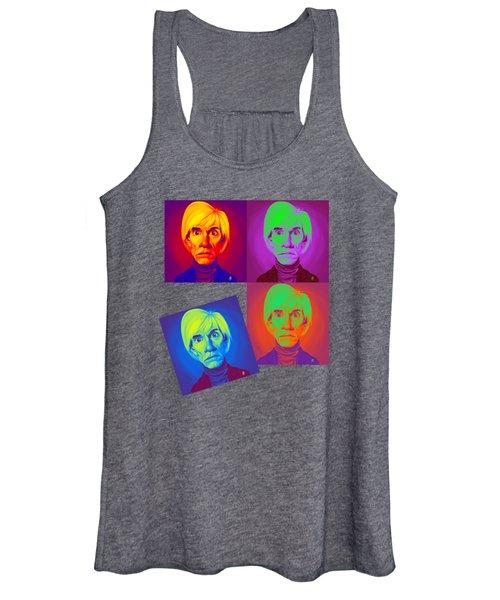Andy Warhol On Andy Warhol Women's Tank Top