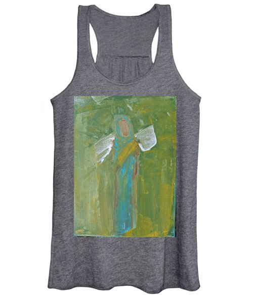 Angel Praise And Worship Women's Tank Top