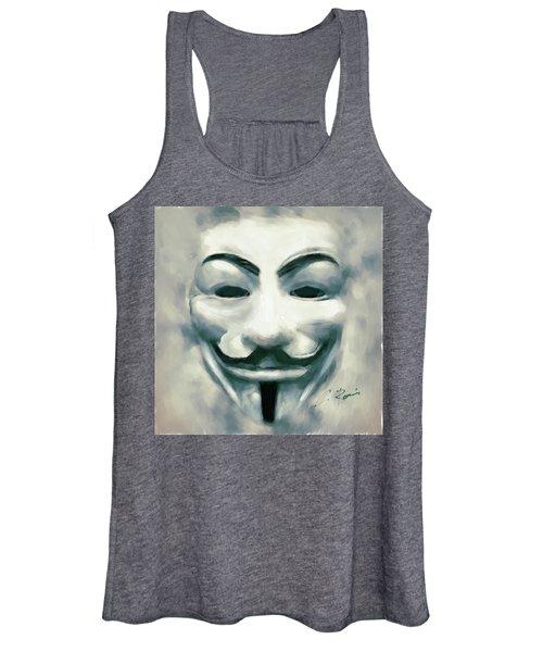 Anonymous Women's Tank Top