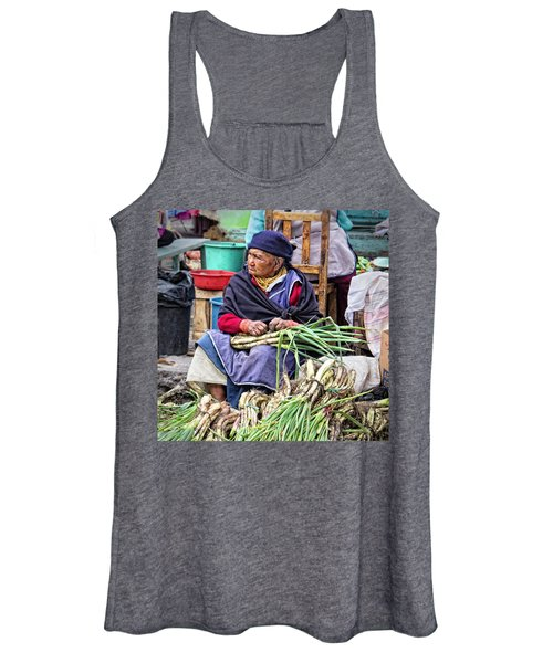 Another Day At The Market Women's Tank Top