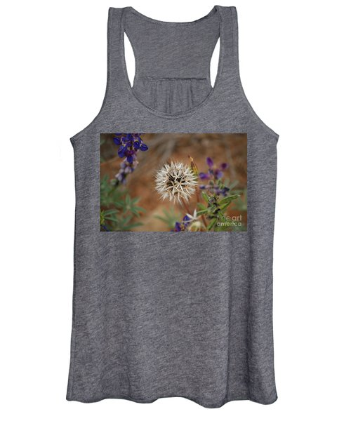 Another White Flower Women's Tank Top