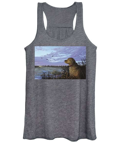 On Watch - Yellow Lab Women's Tank Top