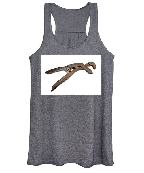 Antique Adjustable Plier Women's Tank Top