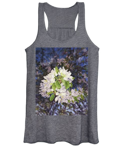 Apple Blossoms At Dusk Women's Tank Top