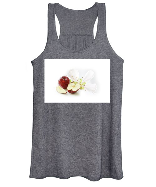 Apples And Blossom Women's Tank Top