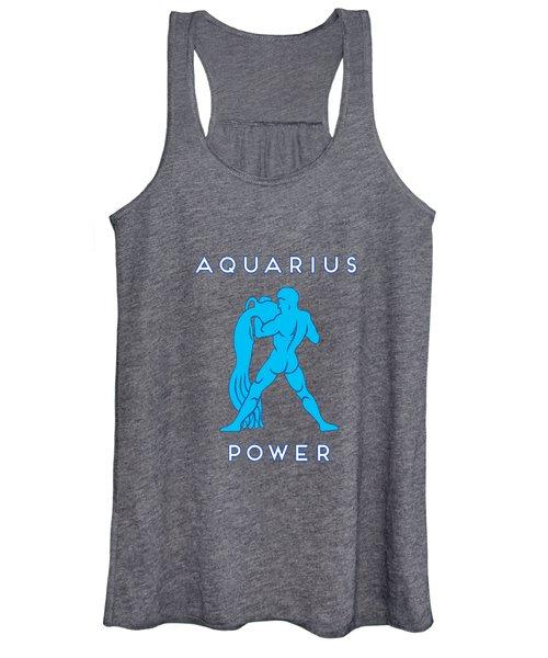 Aquarius Power Women's Tank Top