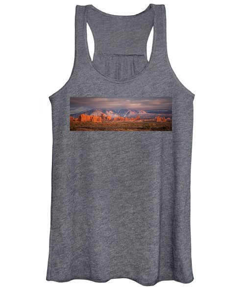Arches National Park Pano Women's Tank Top