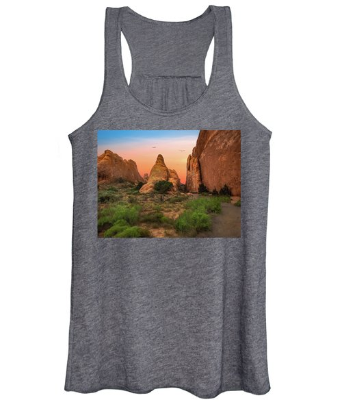 Arches National Park Sunset Women's Tank Top