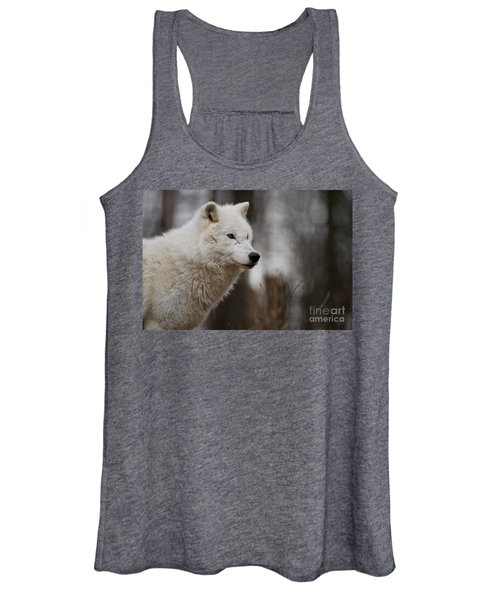 Arctic Wolf Pictures 1242 Women's Tank Top