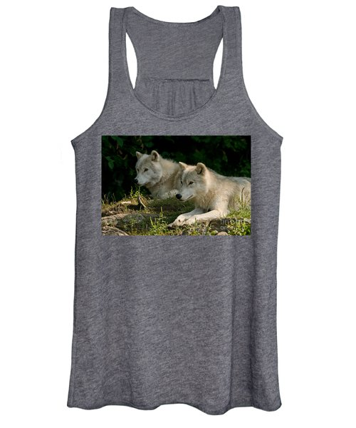 Arctic Wolf Pictures 1268 Women's Tank Top