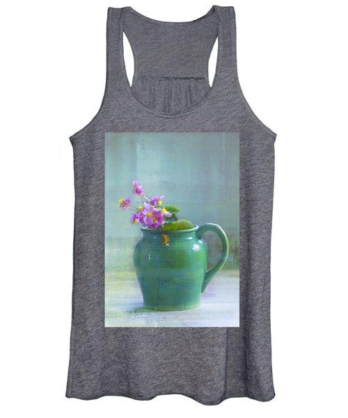 Art Of Begonia Women's Tank Top