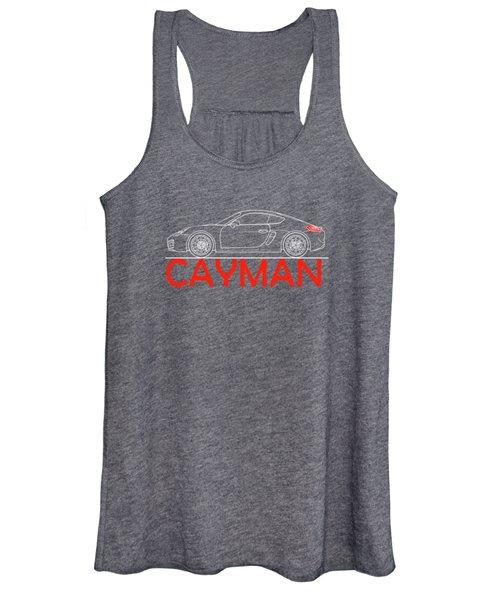 Porsche Cayman Phone Case Women's Tank Top