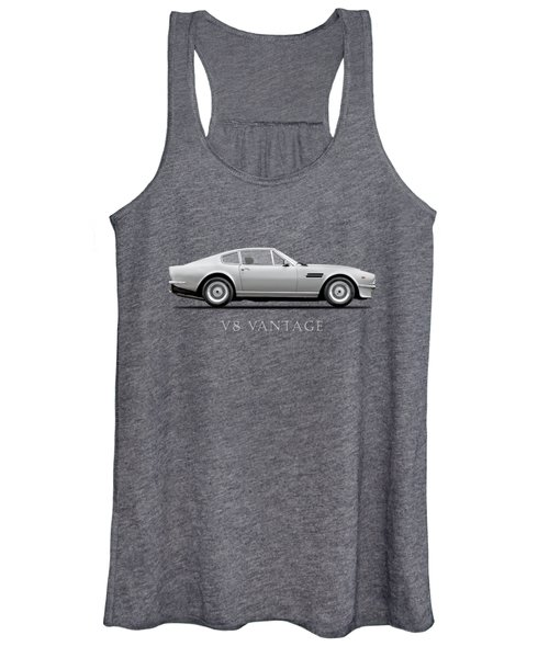 The Aston V8 Vantage Women's Tank Top