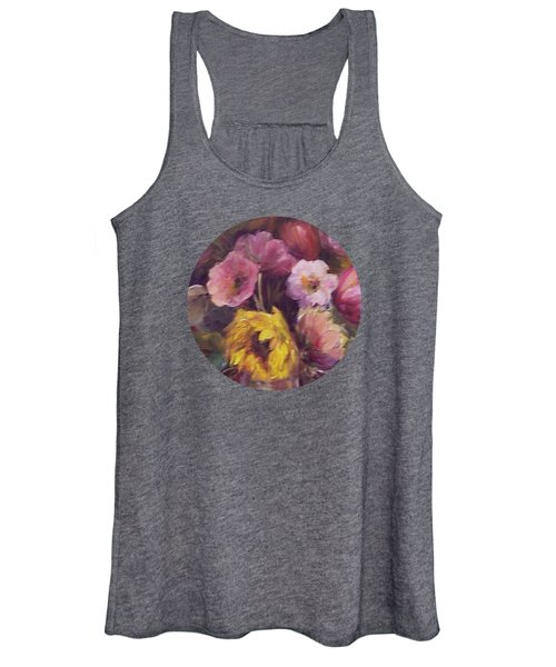 Abundance- Floral Painting Women's Tank Top